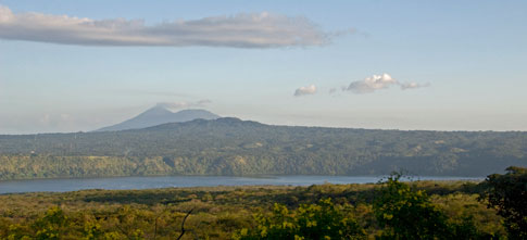 Picture: View of Lake Masaya and Mombocho