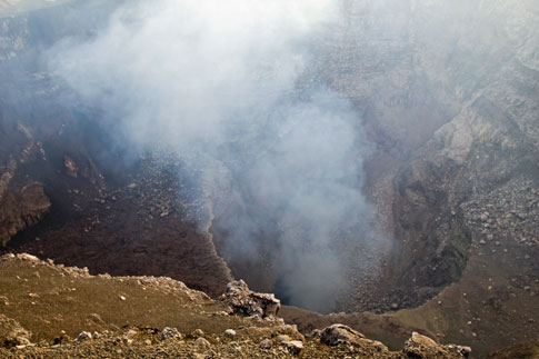 Picture: Masaya Volcano Crater