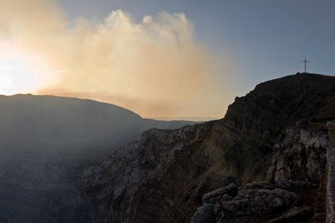 Picture: Cross over Masaya Volcano