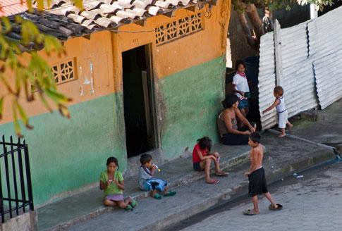 View from Fortaleza La Polvora, Granada, Nicaragua