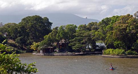 View from Castillo San Pablo,  Las Isletas de Granada, Nicaragua