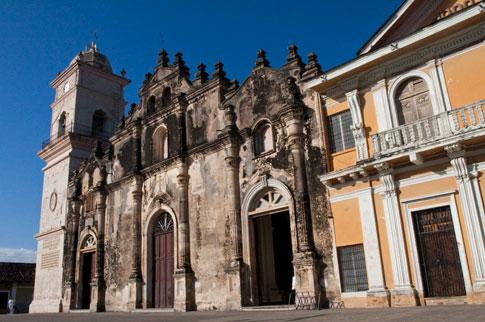 Iglesia de Merced, Granada, Nicaragua