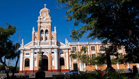 Restored Church, Granada, Nicaragua