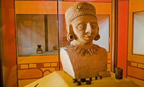 Statue in Nicaragua National Museum in Managua