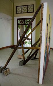 Painting in Nicaragua National Museum in Managua