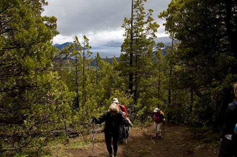 Climbing Cerro Campanario
