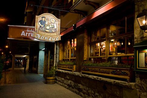 Restaurant in San Carlos de Bariloche, Argentina