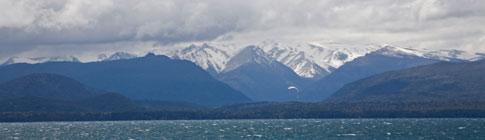 Lake Nahuel Huapi, seen from the city of San Carlos de Bariloche, Argentina