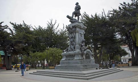 Punta Arenas, Plaza Muñoz Gamero