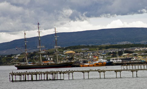 HMS Beagle reconstruction, Punta Arenas