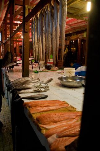 Fish Market, Puerto Montt, Chile
