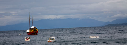 Lake View from Puerto Varas, Chile
