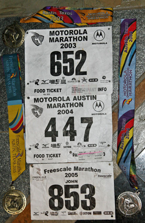 Motorola Marathon bib