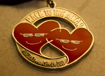 2011 Race to the Altar Marathon Medal