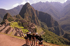 IncaRunners at Machu Picchu